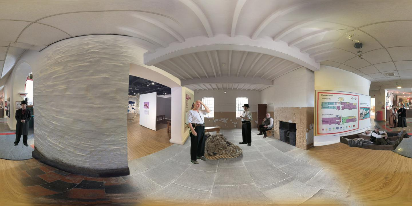 Workhouse Men 3D Viewer Photosphere