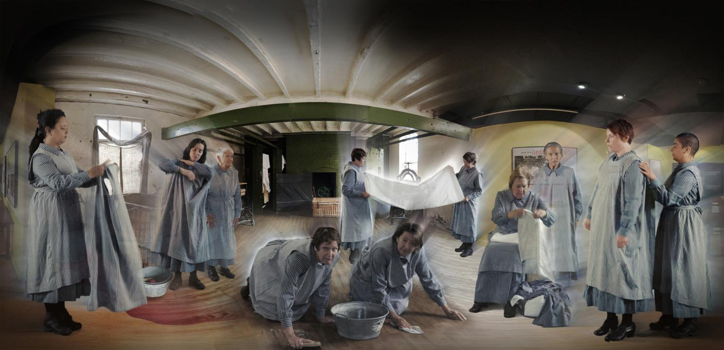 Workhouse Women Augmented Reality Postcard